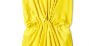 carven-yellow-yellow-twist-waist-v-neck-dress-product-1-2699226-092721940_large_flex